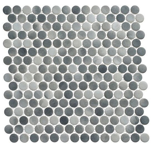 Bella Glass Tiles Polka Dots PLK65 Ombre Reef