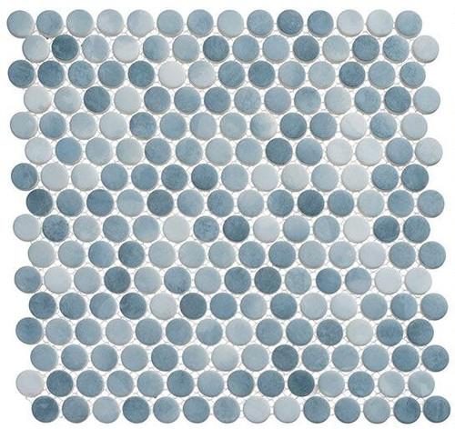 Bella Glass Tiles Polka Dots PLK66 Seahorse Waves