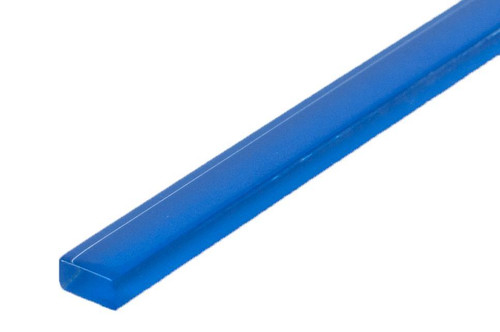 UBC Basic Collection 5/8 x 8 Glass Liner Caribbean Blue