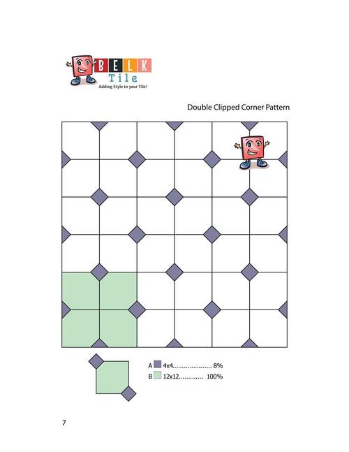 BELK Tile Patterns Double Clipped Corner Floor Tile Pattern