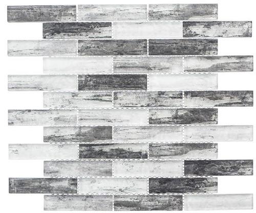 Bella Glass Tiles Metropolis Series MET761 Greystoke