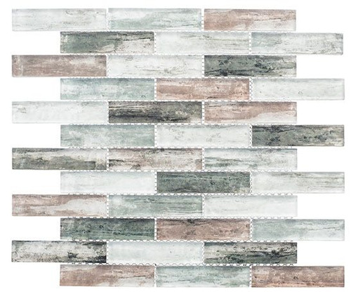 Bella Glass Tiles Metropolis Series MET765 Stark Premium