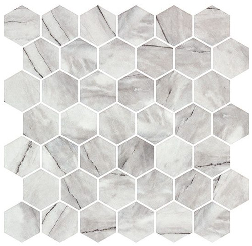 Bella Glass Tiles Mayan Garden Series MYN1301 Aztec Grey