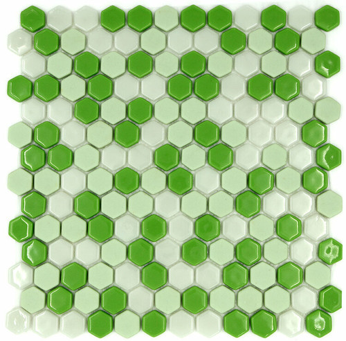My Tile Backsplash Sicily Collection Series Hexagon Snapdragon