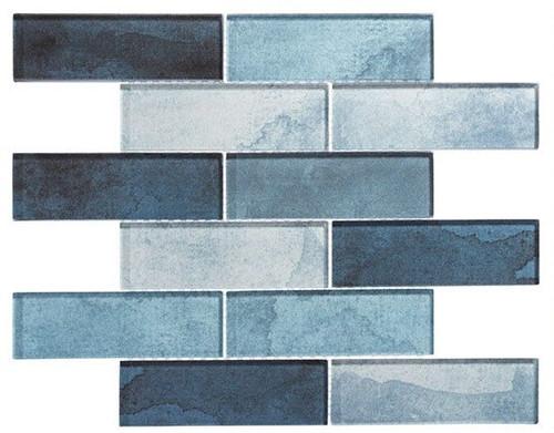 Bella Glass Tiles Westminster Series WM772 Blue Jubilee