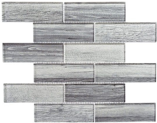 Bella Glass Tiles Westminster Series WM777 English Grey