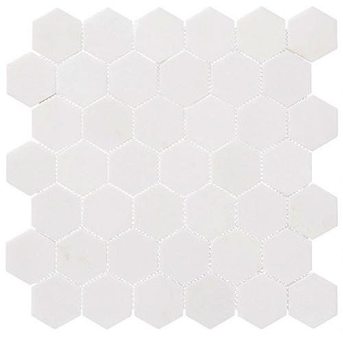 Bella Glass Tiles Colonial 2 Inch Hex Light Canopy CLNL276