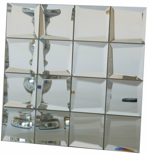 UBC Reflection Series Clear Mirror Uneven Edge 412-001