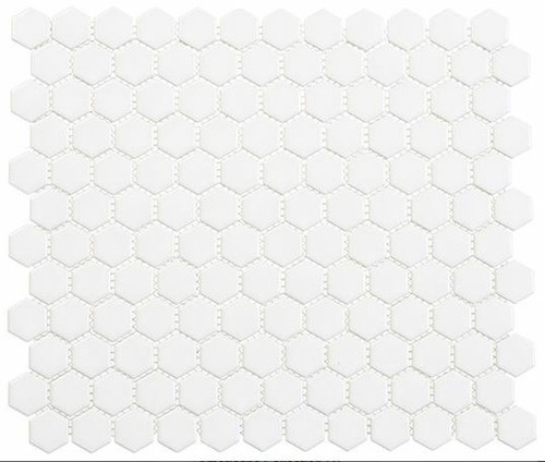 Bella Glass Tiles Freedom Avenue Hexagon United Dove FDM1811