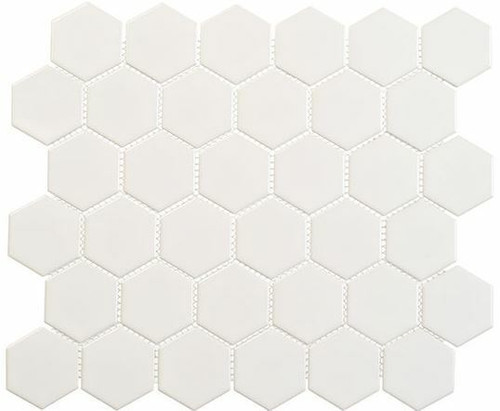 Bella Glass Tiles Freedom Avenue 2 inch Hexagon Pillar Shine FDM1823