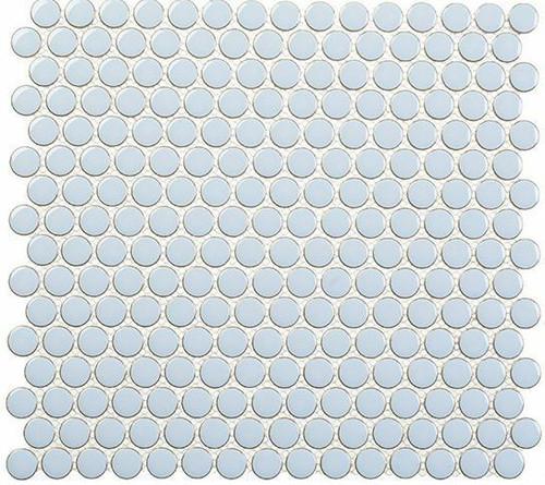 Bella Glass Tiles Effortless Penny Round Kool Vibe EFT8903