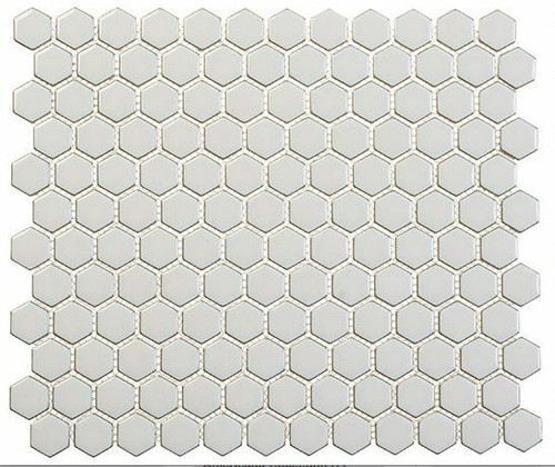 Bella Glass Tiles Effortless Series Hexagon Xen Breeze EFT8912