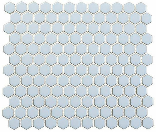Bella Glass Tiles Effortless Series Hexagon Kool Vibe EFT8913