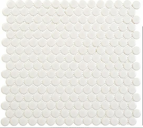 Bella Glass Tiles Freedom Avenue Penny Round Pillar Shine FDM1803