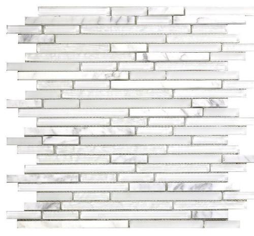 My Tile Backsplash Bello Series Ice Pixie Stix MTB112