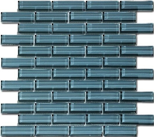 Bella Glass Tiles Crystile Series 1 x 3 Eclipse