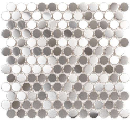 UBC Stainless Steel Tile Backsplash Nickel Mosaic 411-016