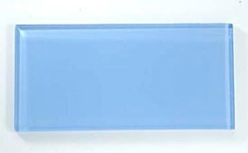 Bella Glass Tiles Crystile Series 3 x 6 Subway Pacific Ocean