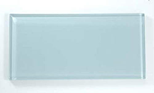 Bella Glass Tiles Crystile Series 3 x 6 Subway Morning Mist