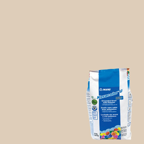 Mapei Mapei Unsanded Grout 10 lb Bag - Light Almond