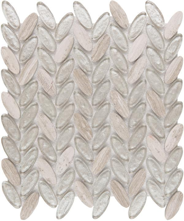 Herringbone Tile Backsplash