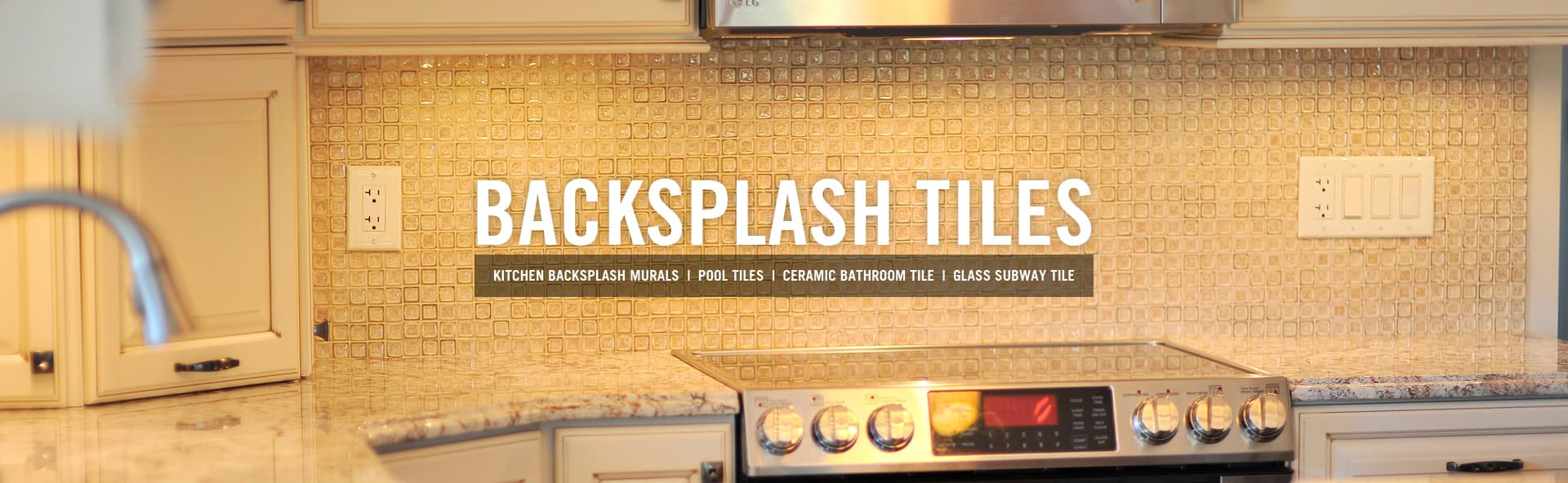 Backsplash tile, kitchen range/ stovetop