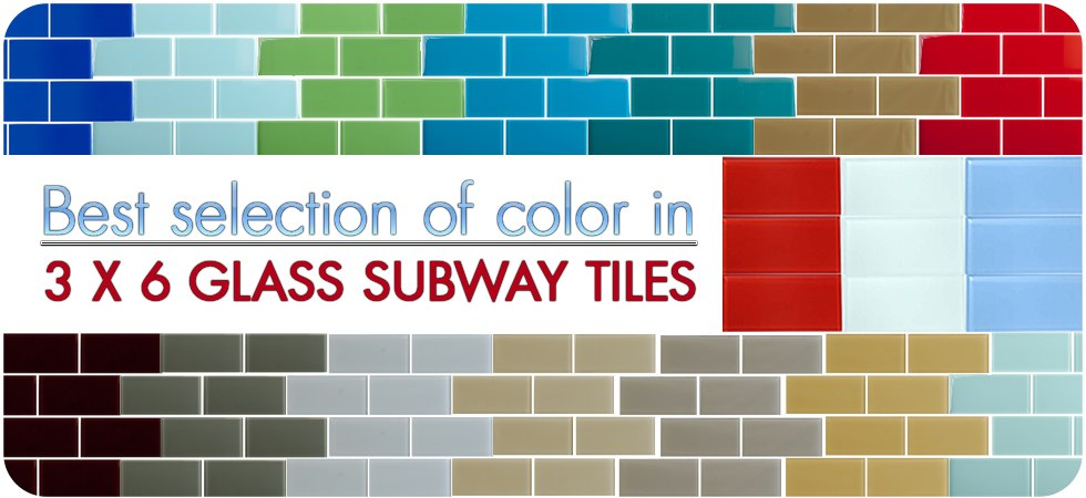 Discount Glass Subway Tiles