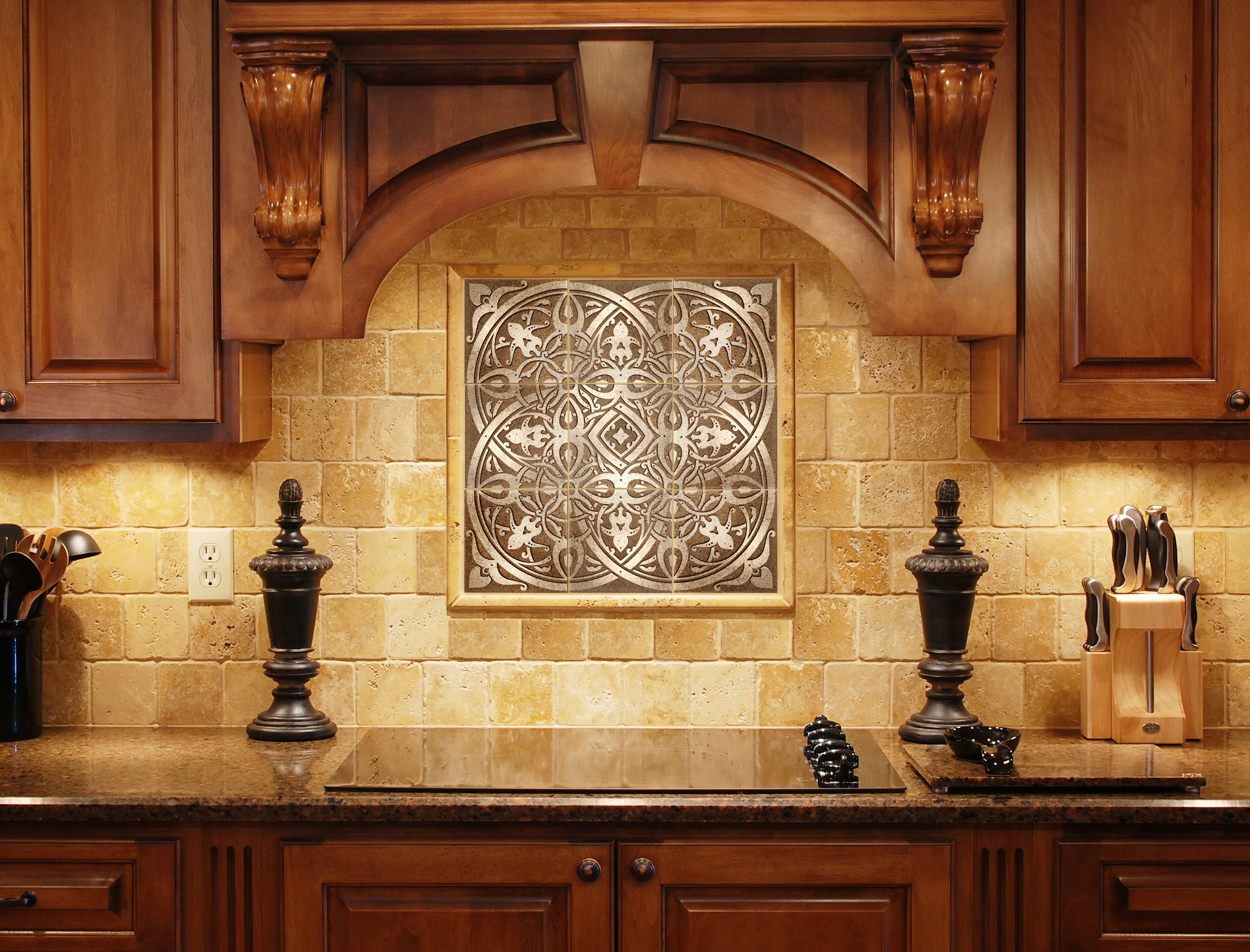 - How Kitchen Backsplash Plaques Become The Perfect Focal Point