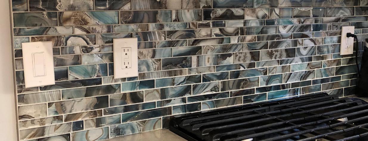 Backsplash Glass Tiles | Modern Glass Tiles | BELK Tile | Glass Tile Backsplash