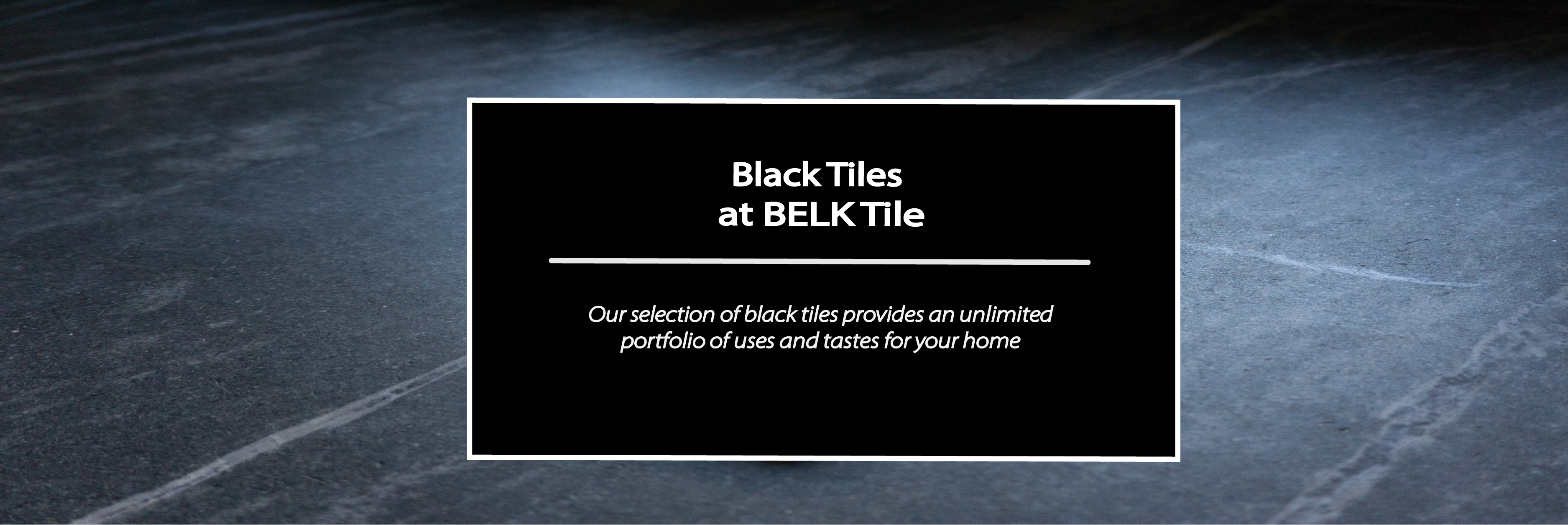 Shop black kitchen backsplash and bathroom wall tiles | BELK Tile