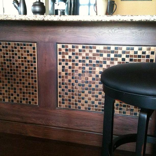 Glass Metal and Stone Blend Mosaic Tile | BELK Tile
