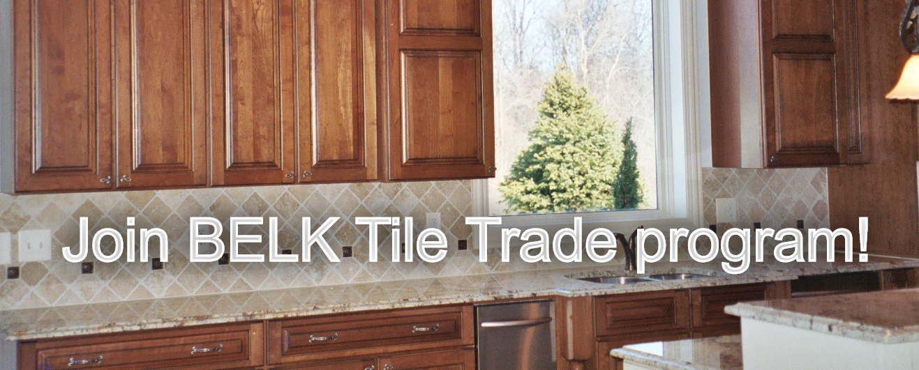 Join the BELK Tile Trade Program for exclusive discounts and more!
