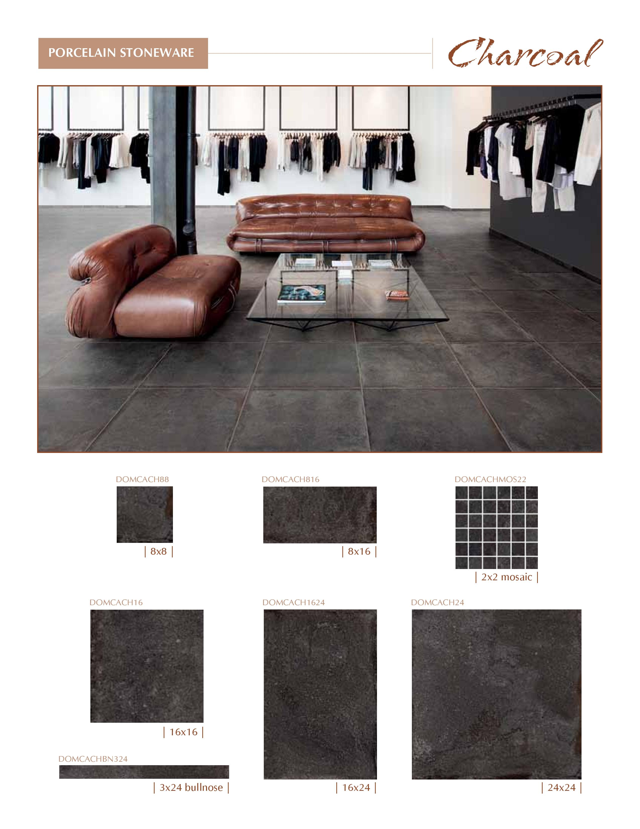 Castle Series by Cerdomus Charcoal Color now at belktile.com