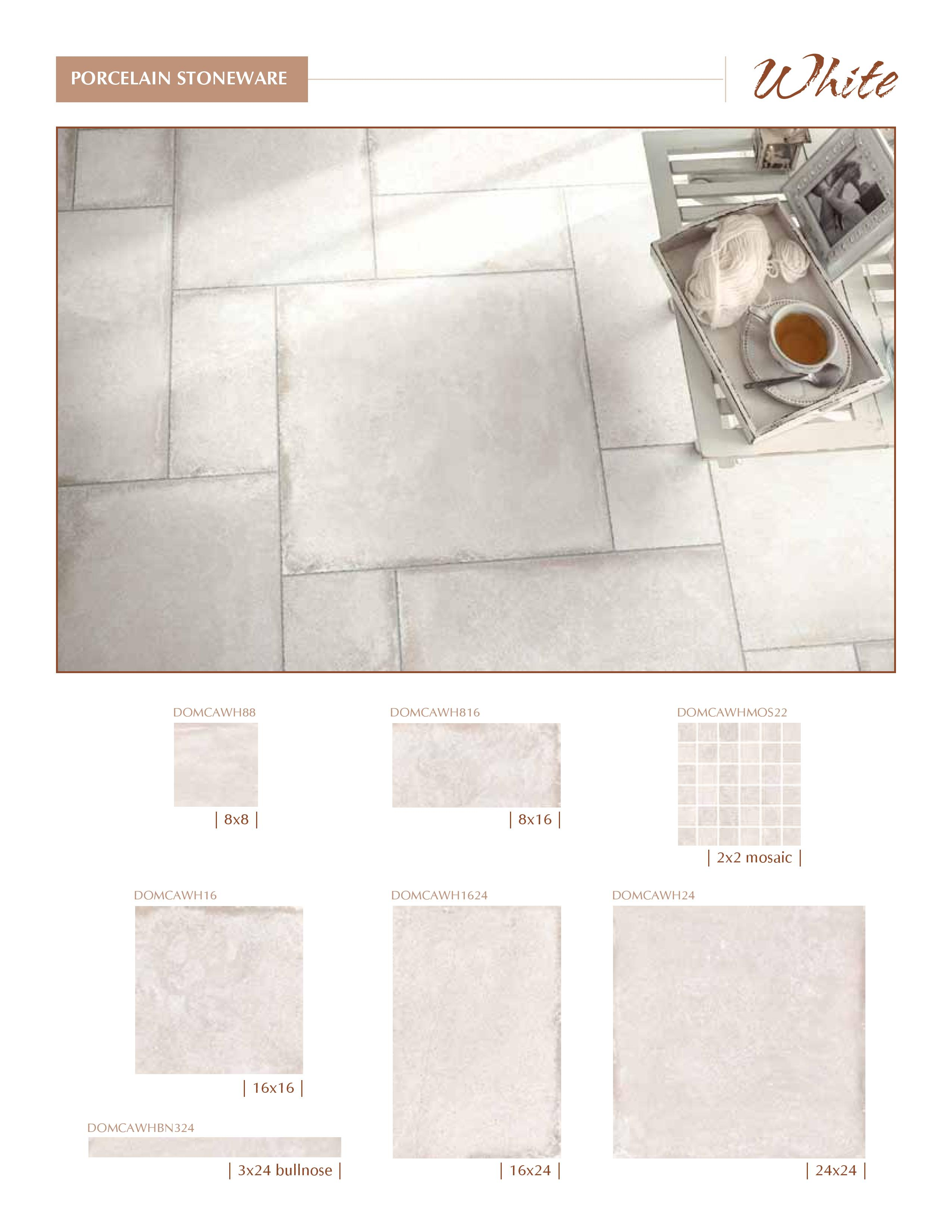 Castle Series by Cerdomus White Color now at belktile.com