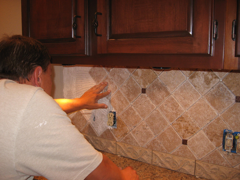 Sealing Travertine Mosaic Tiles Natural Stone Backsplash