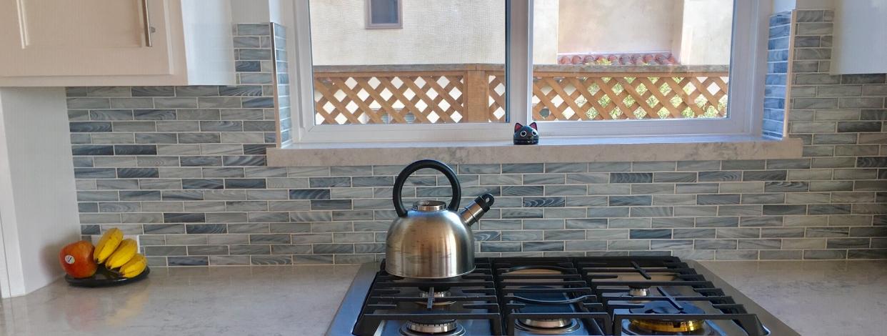 Glass Tile Mosaic Backsplash | BELK Tile