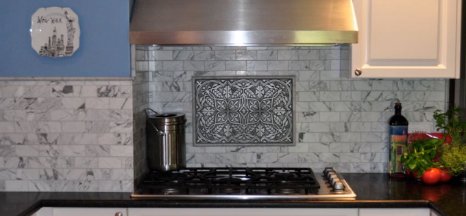 Kitchen Backsplash Murals and Plaques | BELK Tile