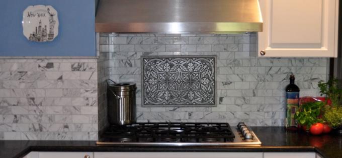 Kitchen Backsplash Murals and Plaques | BELK Tile