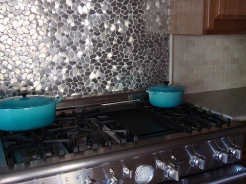 Stainless Steel Mosaic Tile Backsplashes | BELK Tile