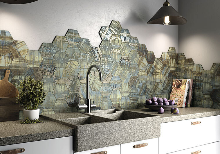 Princeton Glaze Series Hexagon and Subway Tiles at BELK Tile
