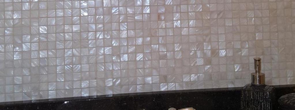 Natural Seashell Mosaic Tile Backsplashes | BELK Tile