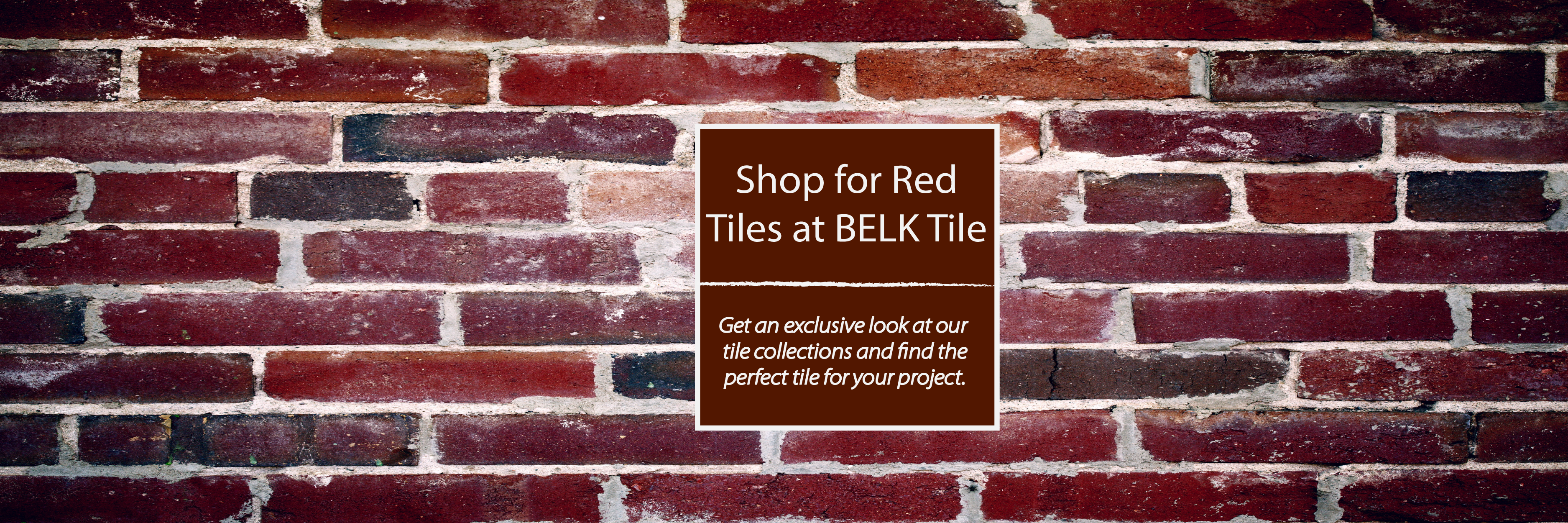 Shop Red Kitchen Backsplash Tile | BELK Tile