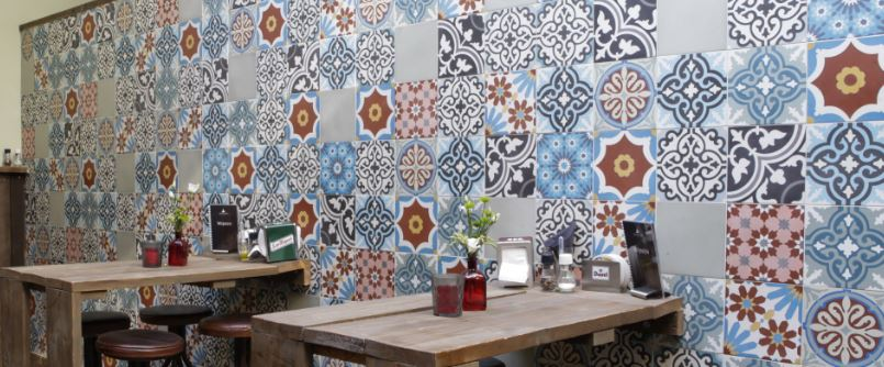 Veranda Encaustic Cement Tiles now available at BELK Tile Showrooms