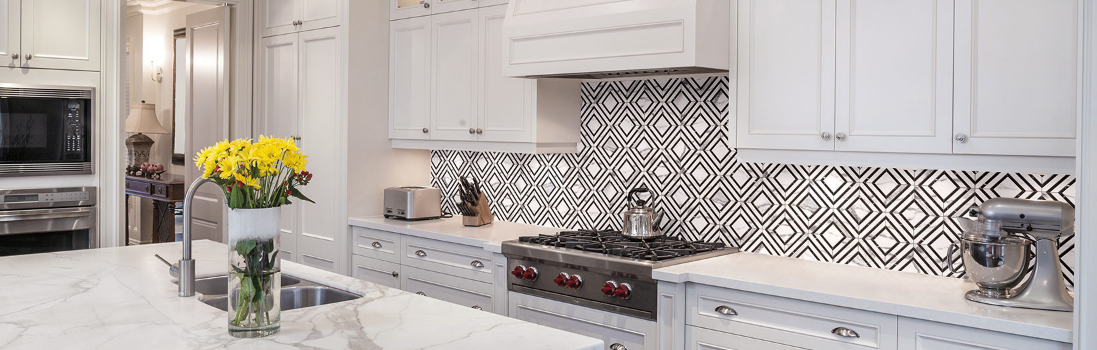 Waterjet Ceramic Tile Mosaic Backsplash | BELK Tile