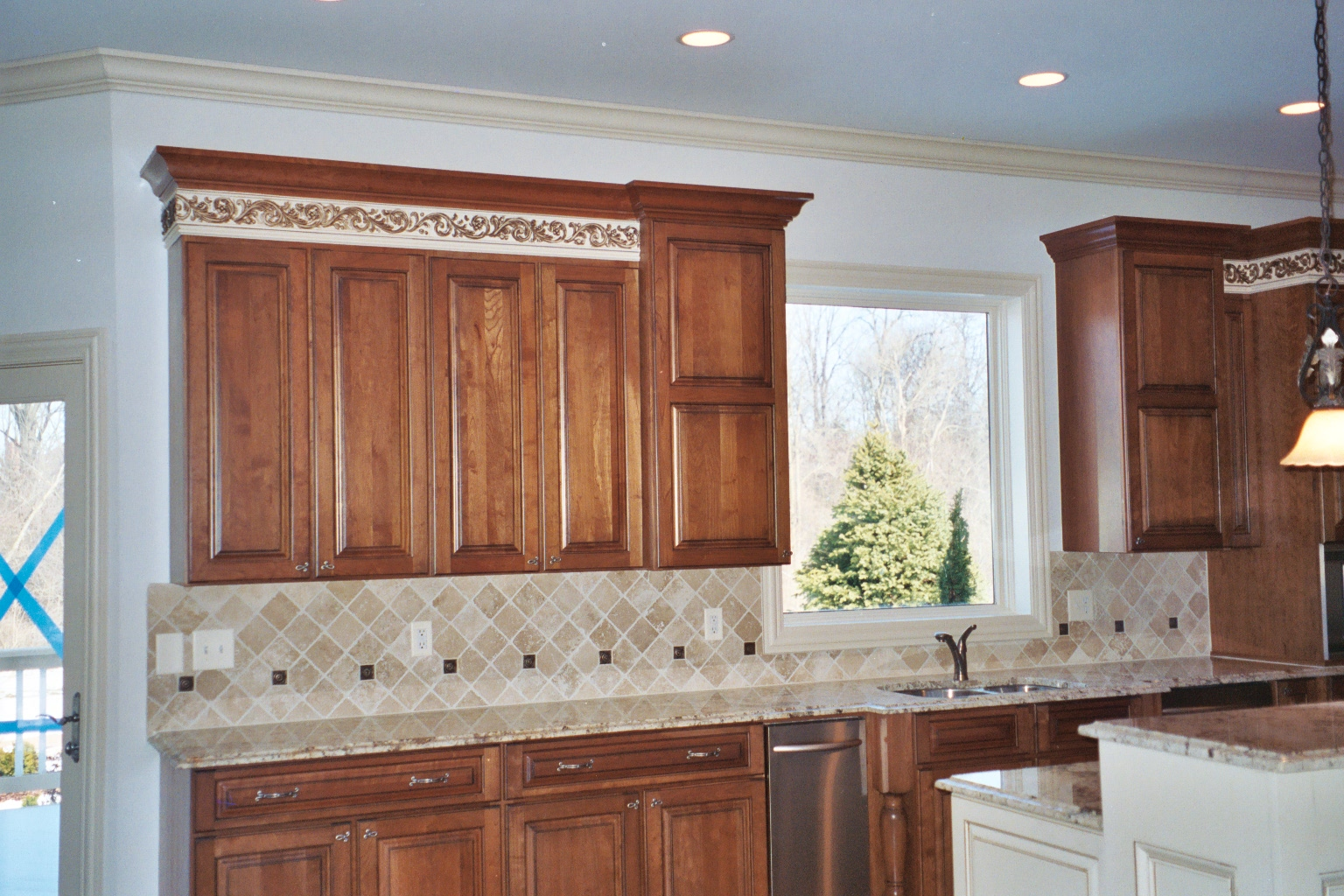 Where To End Kitchen Backsplash Tiles Belk Tile