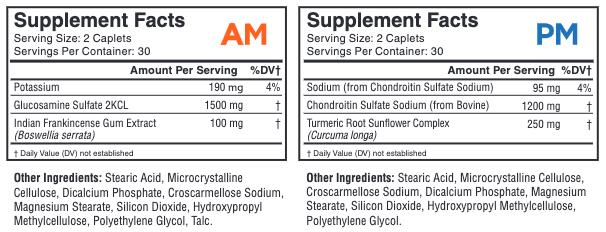 InvigoFlex® AMPM Supplement Facts