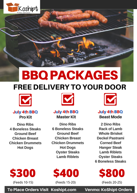 July 4th BBQ Master Kit
