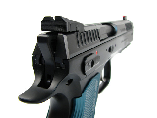 CZ Shadow 2 Black and Blue in 9mm