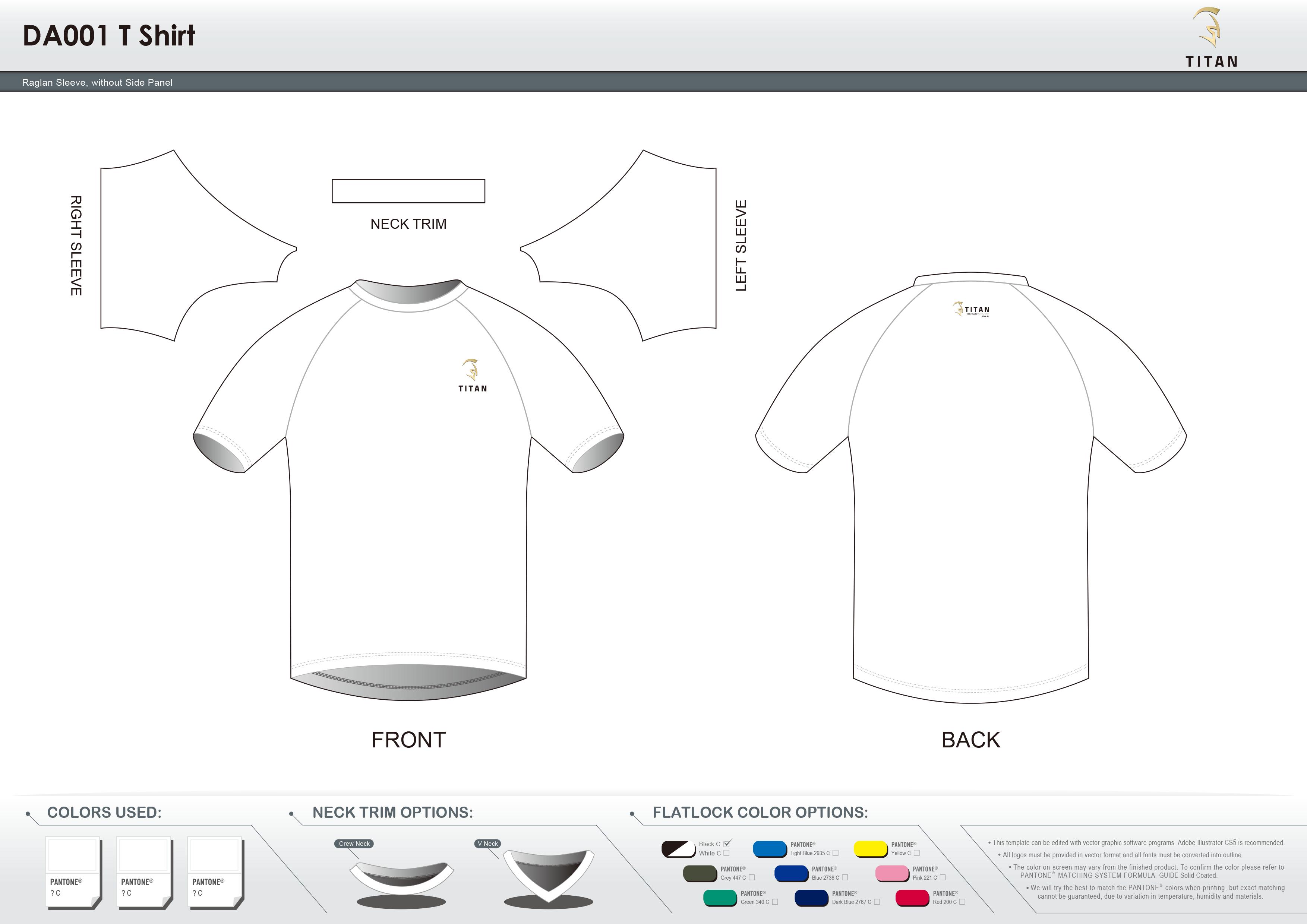 DA001 T Shirt