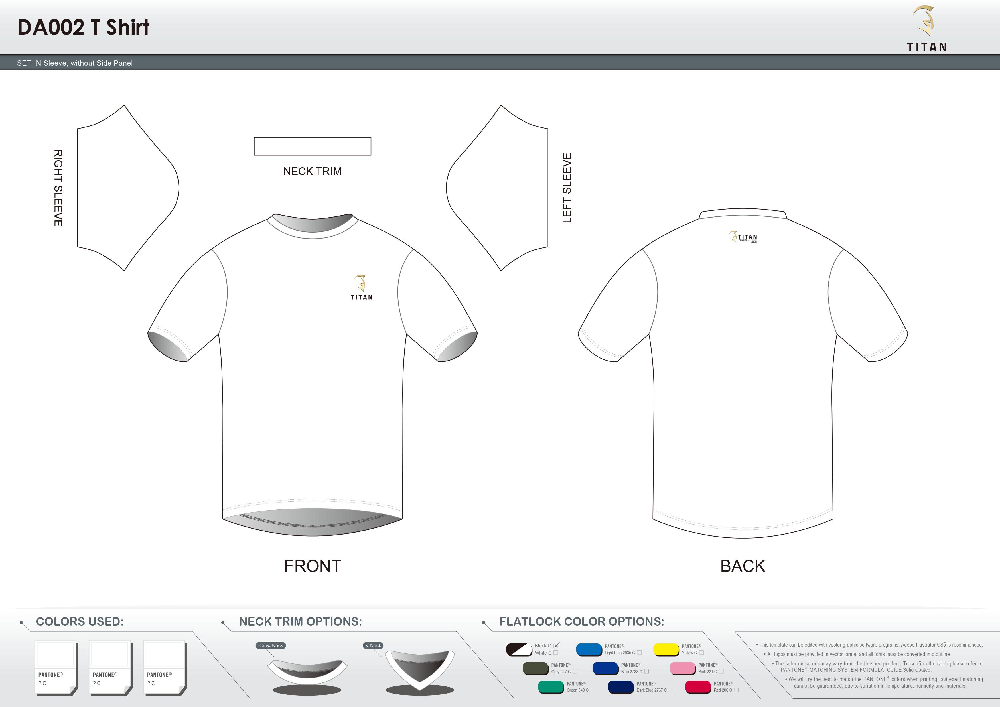 DA002 T Shirt